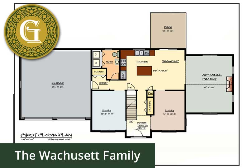 The Wachusett Home (Family) An Additional 320 Sq Ft! - Glynn Company Limited - JT Glynn Construction