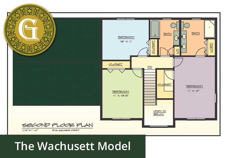 The Wachusett Model (Base) - Glynn Company Limited - JT Glynn Construction